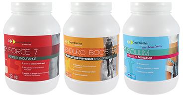 Protéines boissons énergétique et complexe minceur Nutrixlab